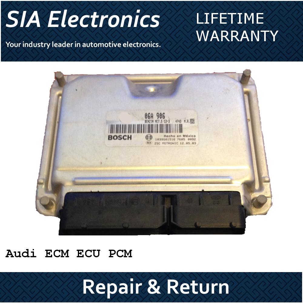 Audi A3 ECM / ECU Repair & Return